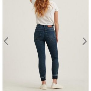 Lucky Brand Denim Bridgette Skinny Jean High Rise